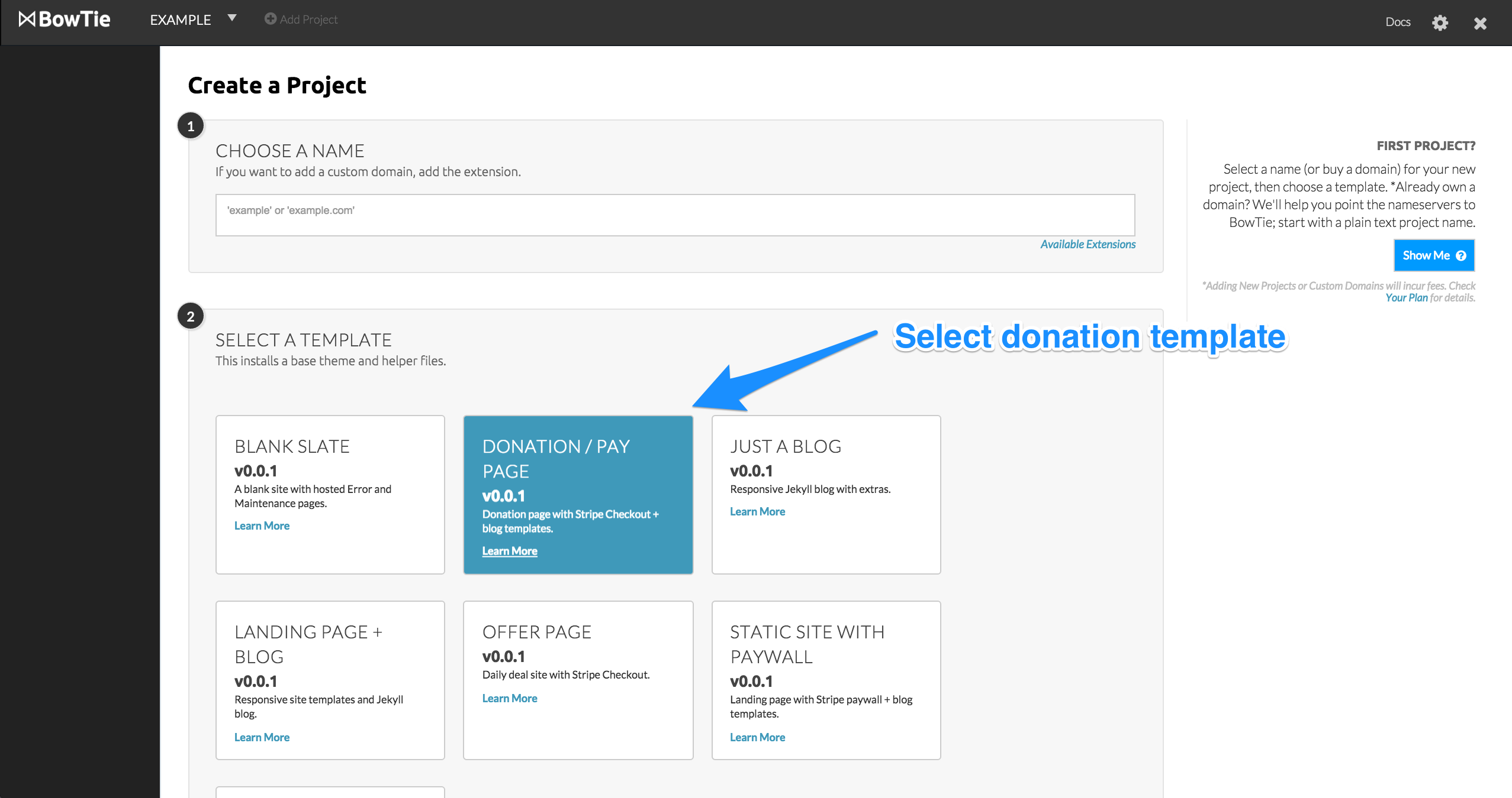 accept stripe payments or donations on static sites static site